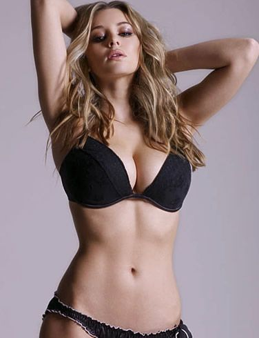 lingerie Keeley ass hazell