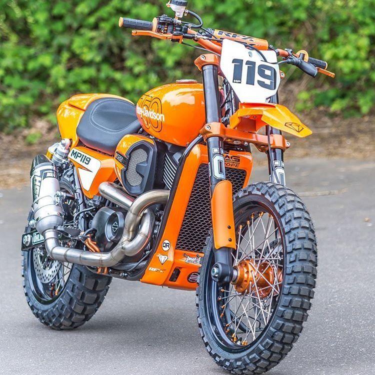 Harley street rod dirt bike mp119 harley davidson