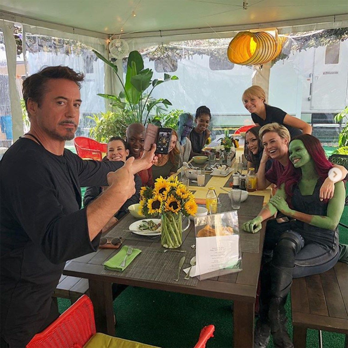 The Marvel Ban Has Finally Lifted! Avengers Actors Share Behind-the-Scenes Moments