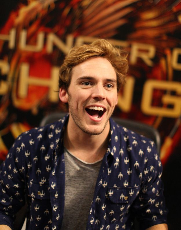 "31 Reasons Sam Claflin Is The ""Hunger Games"" Tribute Of Your Dreams (via BuzzFeed)"