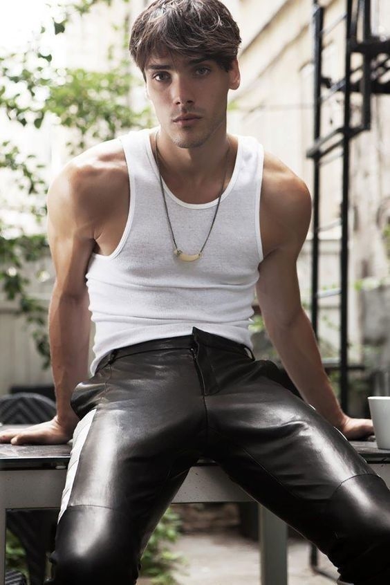 from Xander gay links men clothing leather