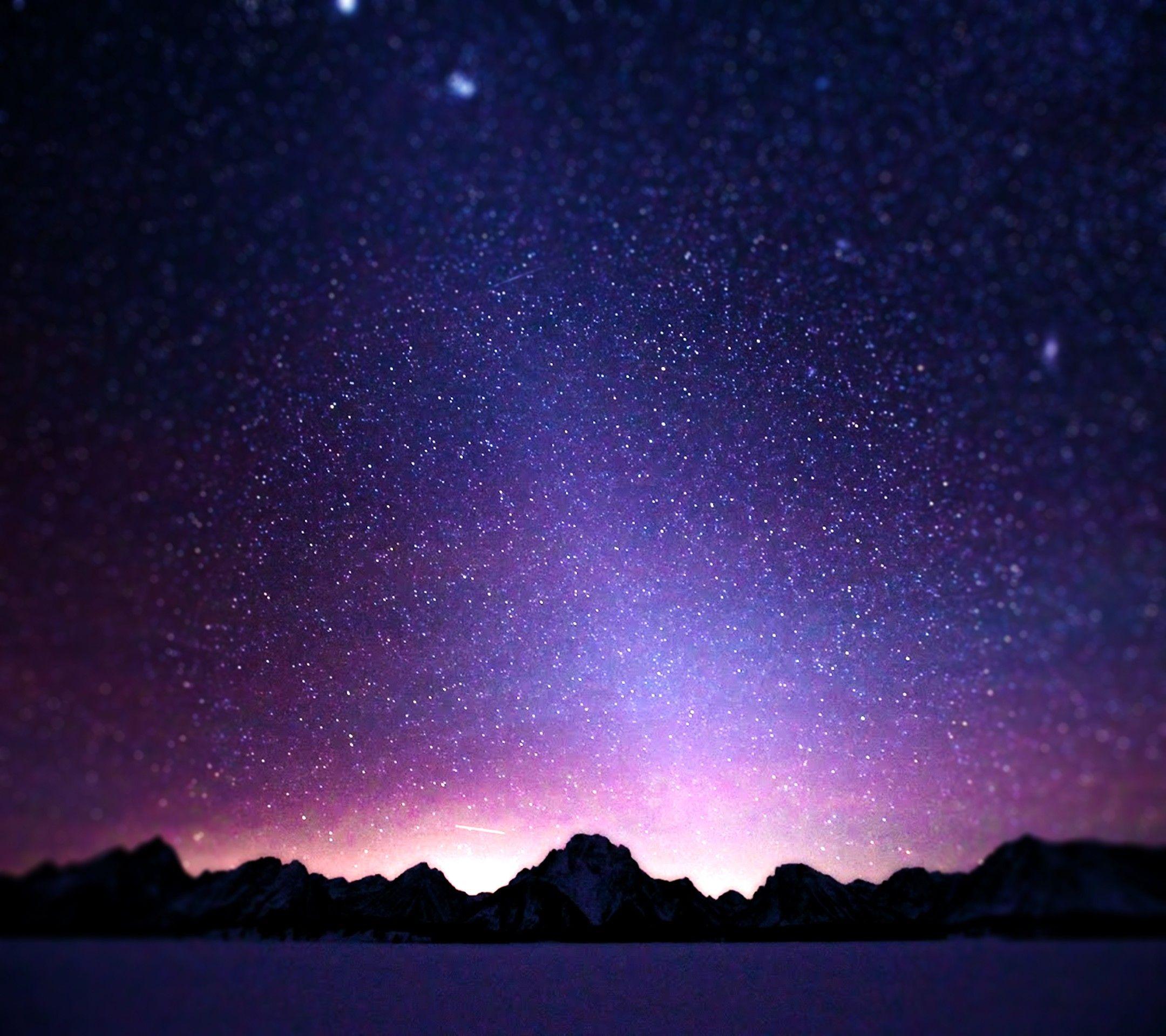 Cielo Estrellado, Fondo De Pantalla