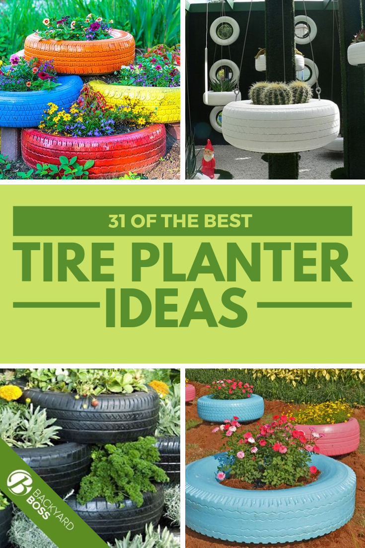 31 Of The Best Tire Planter Ideas Tire Planters Planters Diy