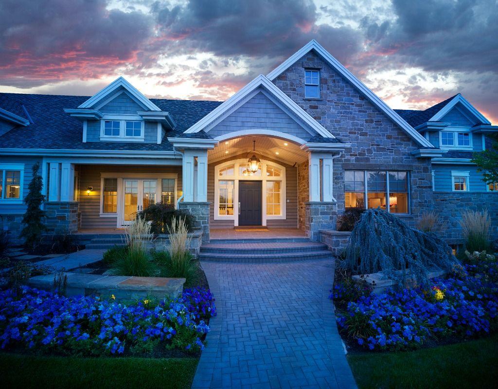 Craftsman Rambler Utah Luxury Custom Homes #customhome