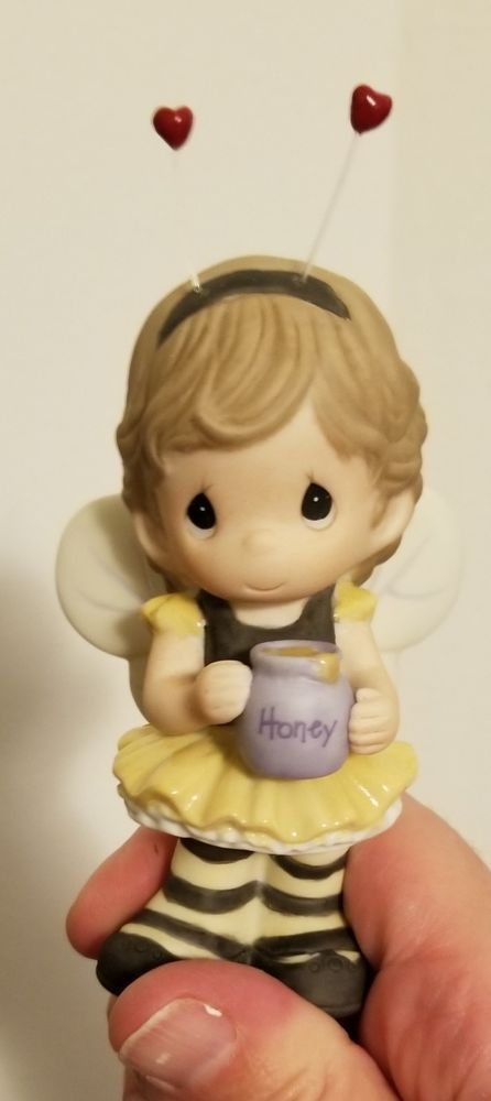 Precious Moments Figurine 940023 Bumblebee Girl with Honey ...