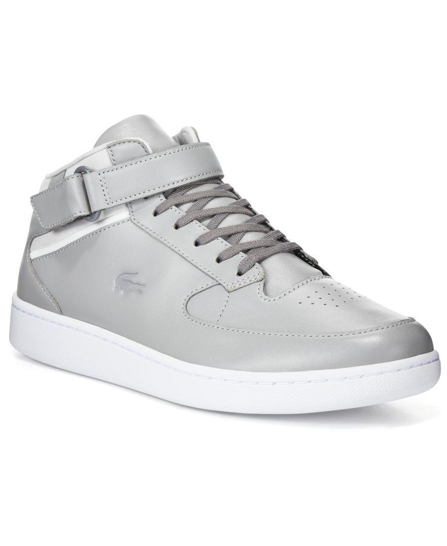 3e08c71e6907a7 Lacoste Men s Turbo Leather Chukka Lace-Up Sneakers