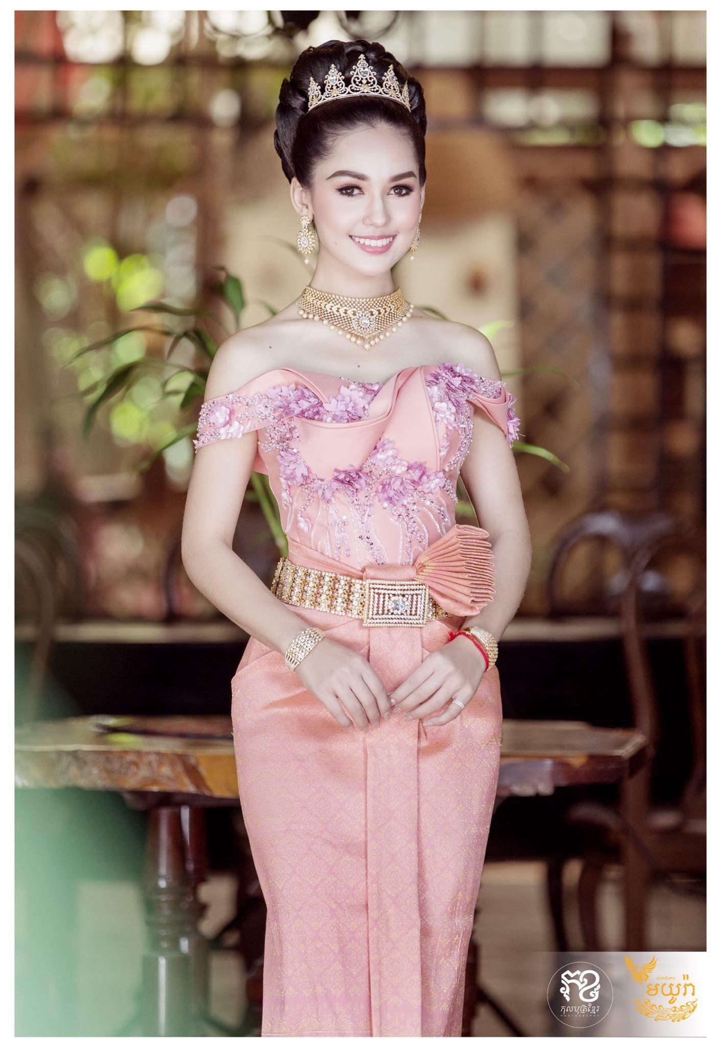 Único Vestido De Novia Khmer Composición - Ideas de Vestidos de Boda ...