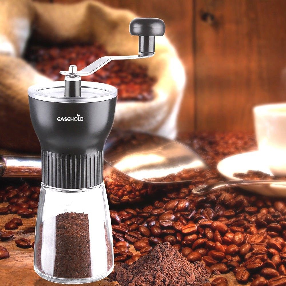 Brand new easehold ceramic coffee hand mill cafe grinder