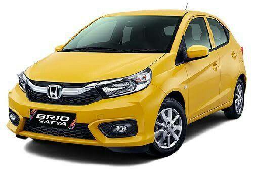 All New Honda Brio Satya E Di 2020 Mobil Honda Mobil Mpv