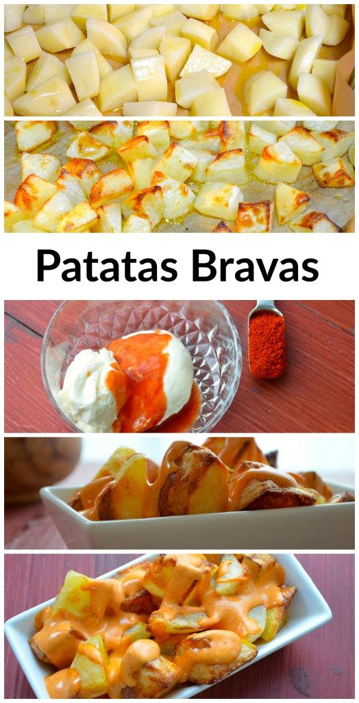 Patatas Bravas Recette Tapas Tapas Recipes Recipes Et Mayo Sauce