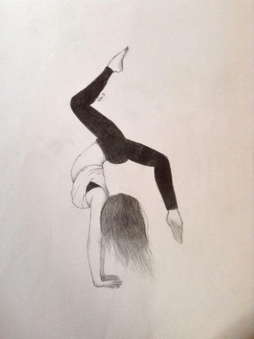 Pingl par lysa sur gymnaste pinterest - Dessin gymnaste ...