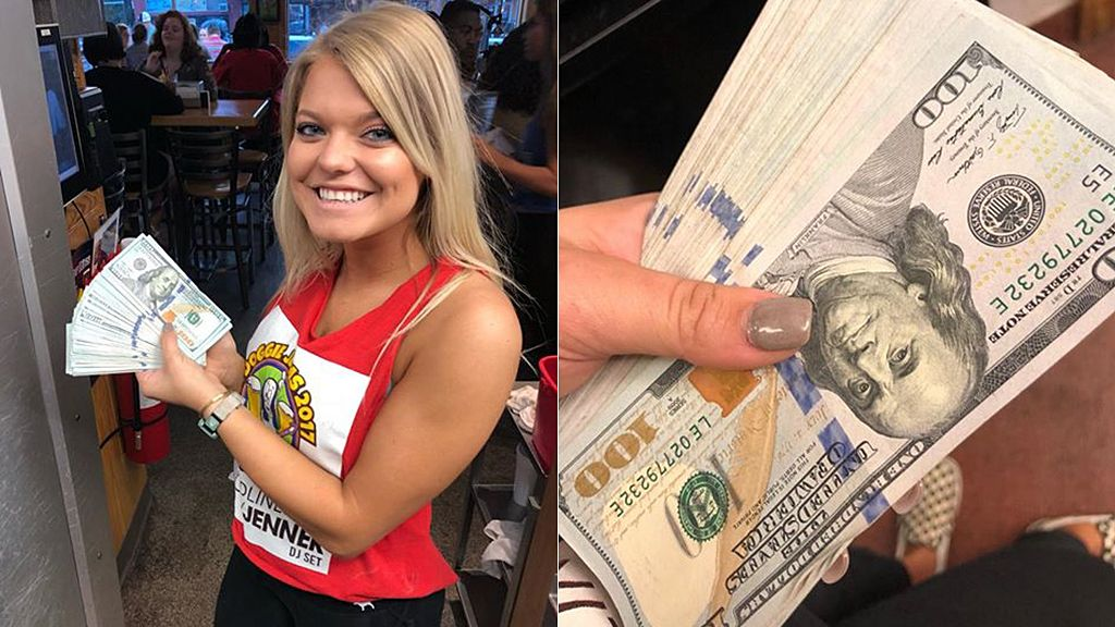 North Carolina Restaurant Server Given 10 000 Cash Tip By Patron