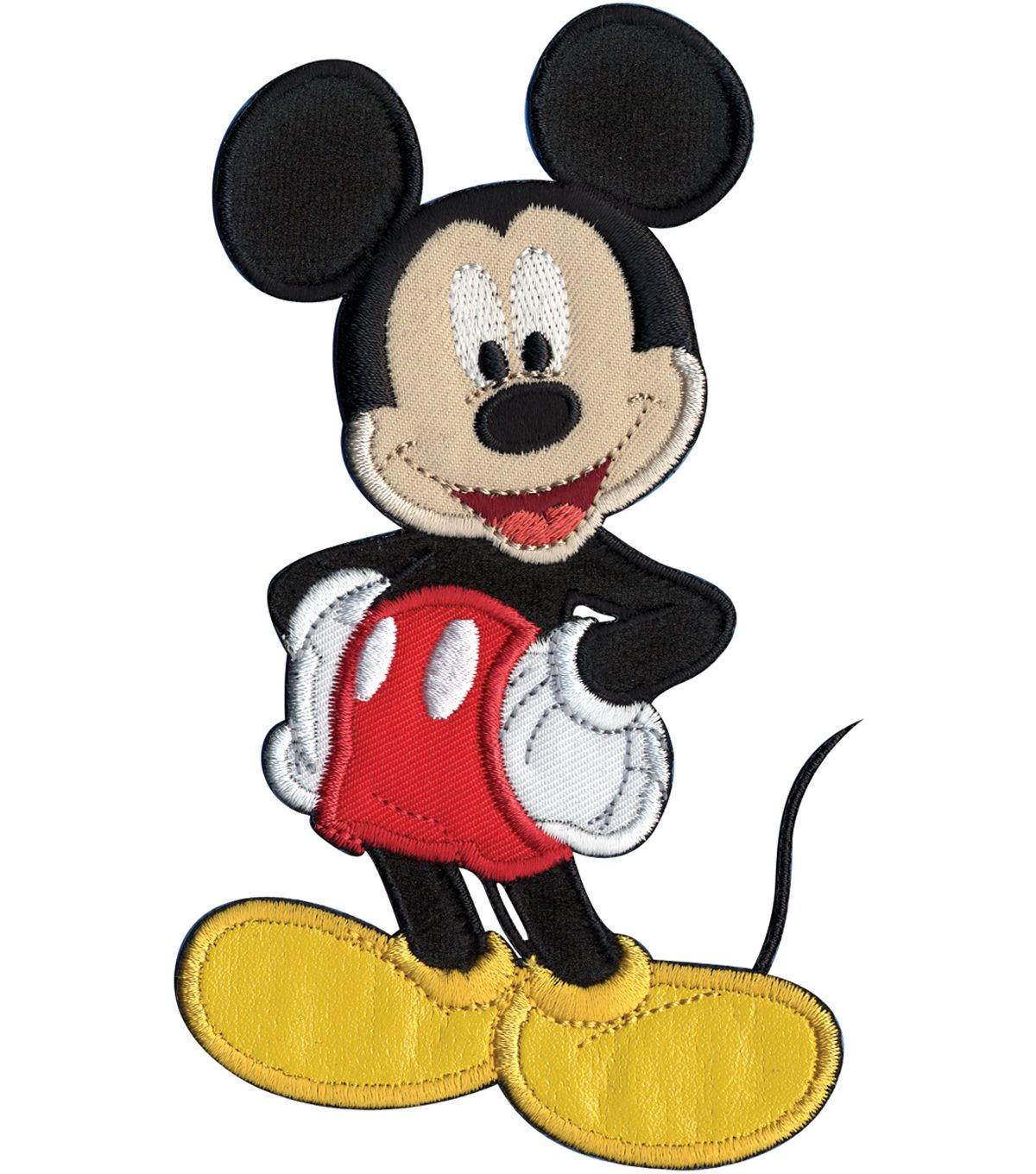 Micky Mouse Disney Iron on Applique Patch