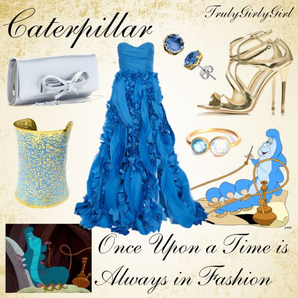 """""""Disney Style: Caterpillar"""" by trulygirlygirl ❤ liked on Polyvore"""