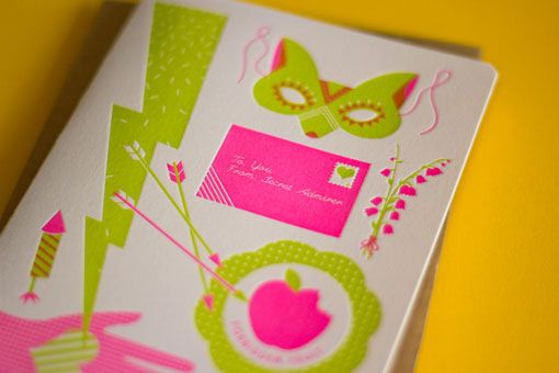 Beci Orpin - Love the bright colors! @Lauren Allison would totally do something awesome like this.