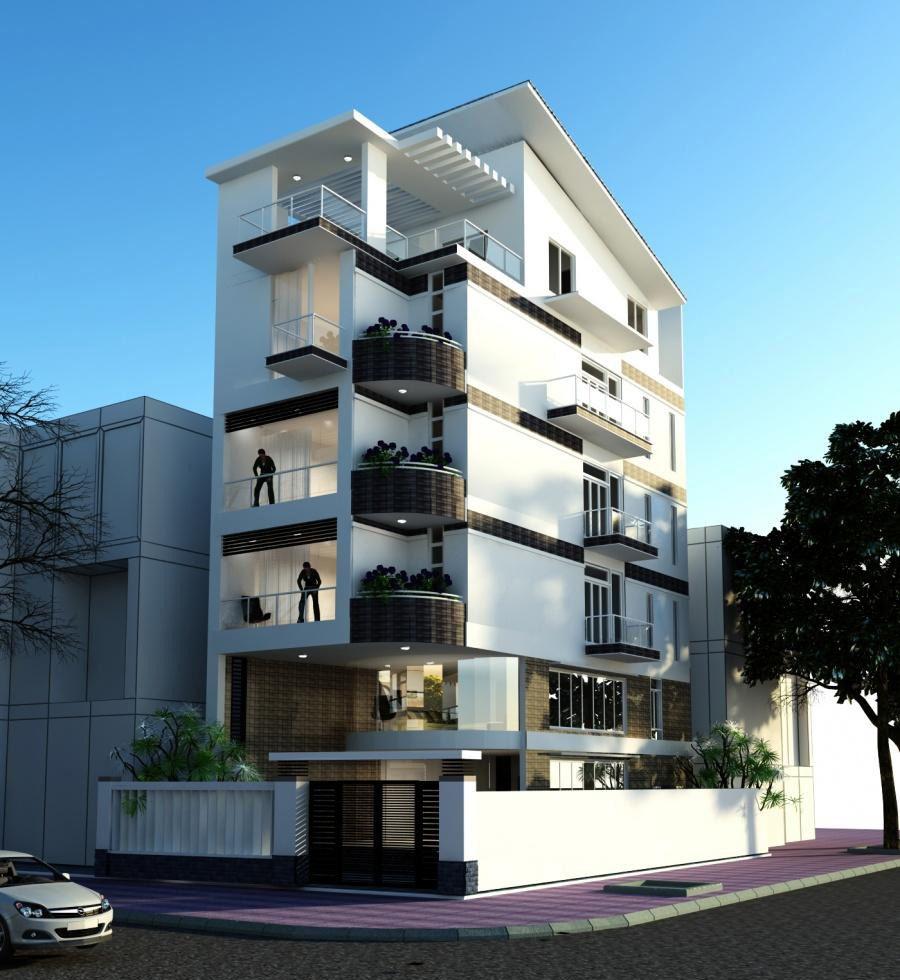 Modern Residential Exterior By Ar Sagar Morkhade: Pin By Nhà Đẹp Vườn Xinh ( NDVX Design Company ) On Thiết