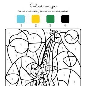 coloring pages of african animals in french