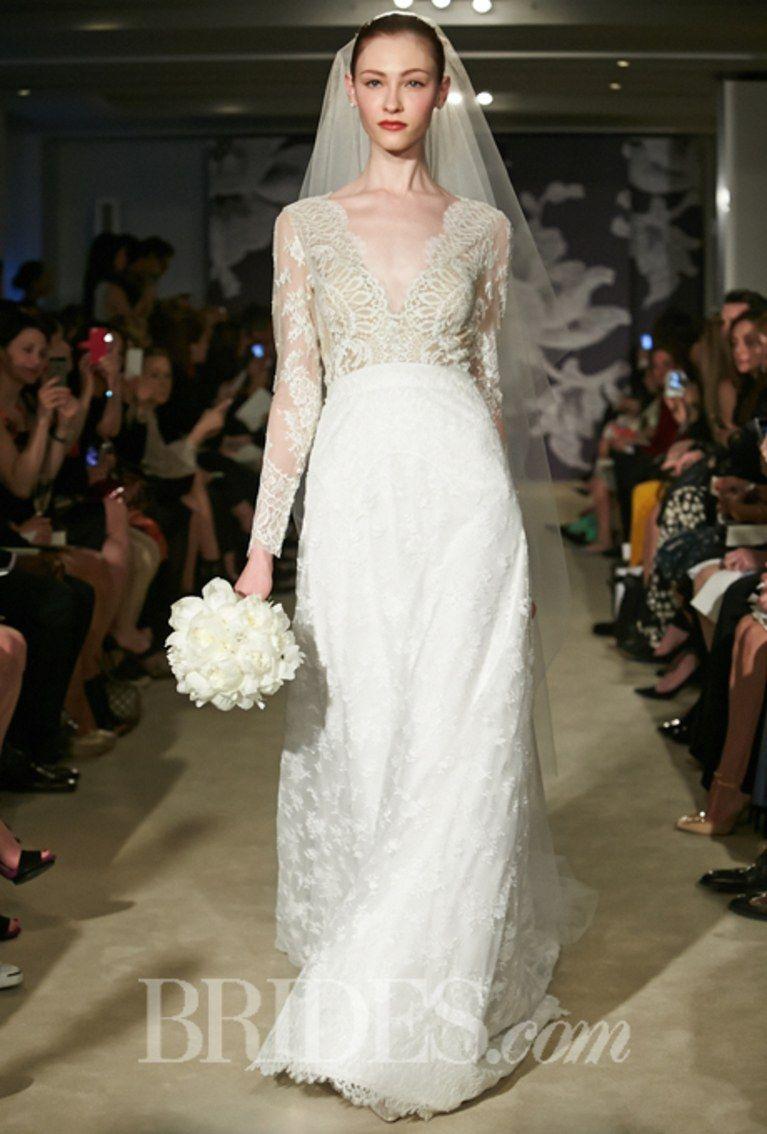 Carolina Herrera Claudette size 10 used wedding dress