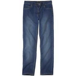 Photo of Ausgewaschene blaue Stretch-Jeans im Regular-Fit Atlas For Men