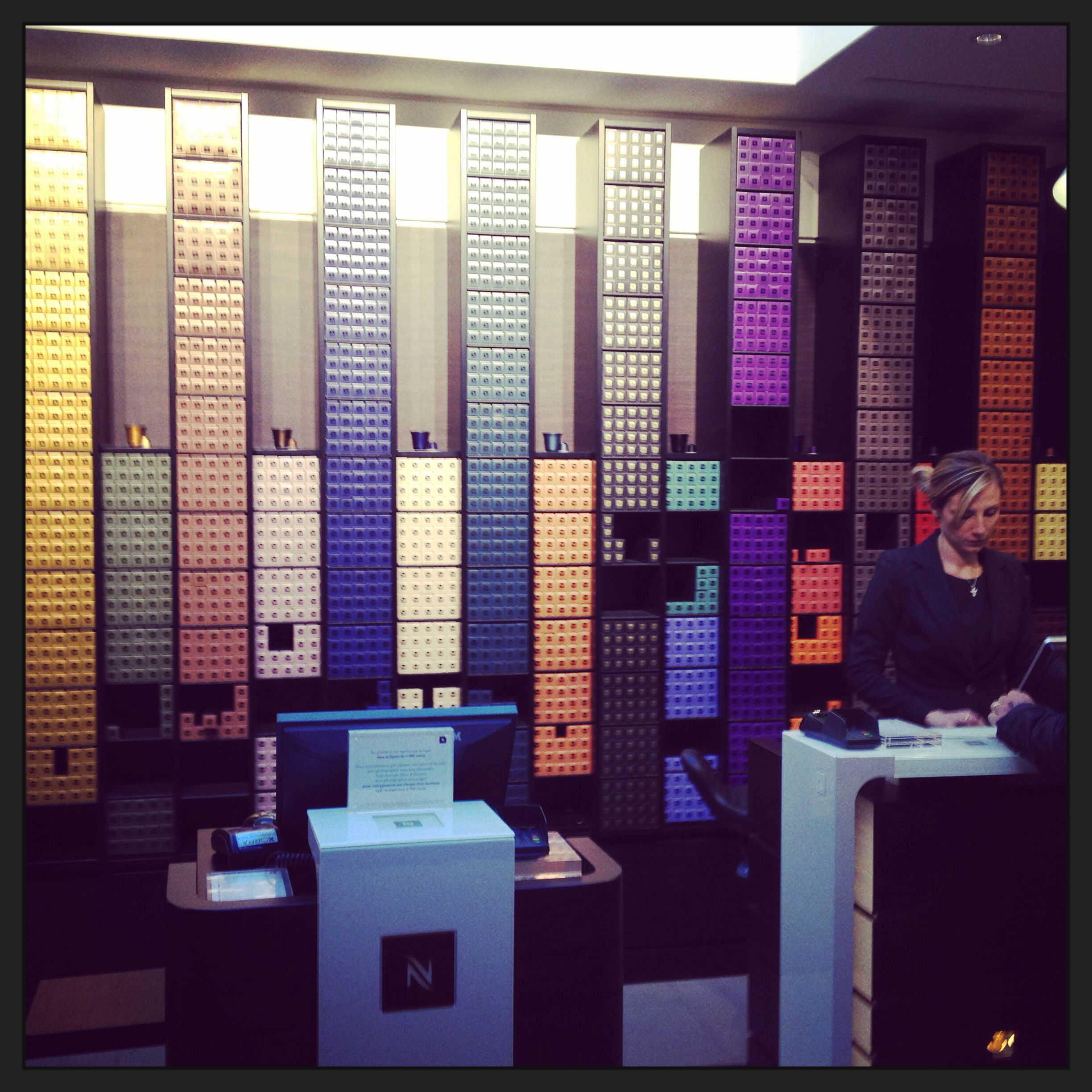 Nespresso Store - Those Are All Pods Of Coffee
