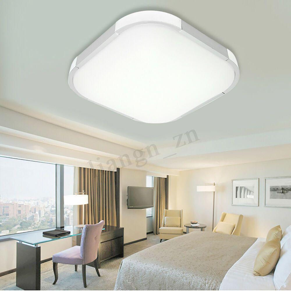 12 18 24 36 48w warm white led square ceiling light bedroom lamp rh pinterest com