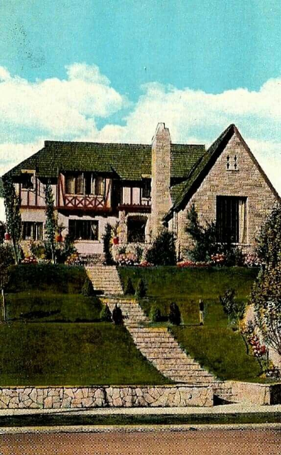 Jean Harlow s home still standing celebrity homes Pinterest