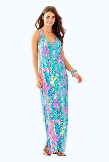 52419a9dd0b0f1 Lilly Pulitzer Kerri Maxi Dress - Easy Tiger   Products   Racerback ...