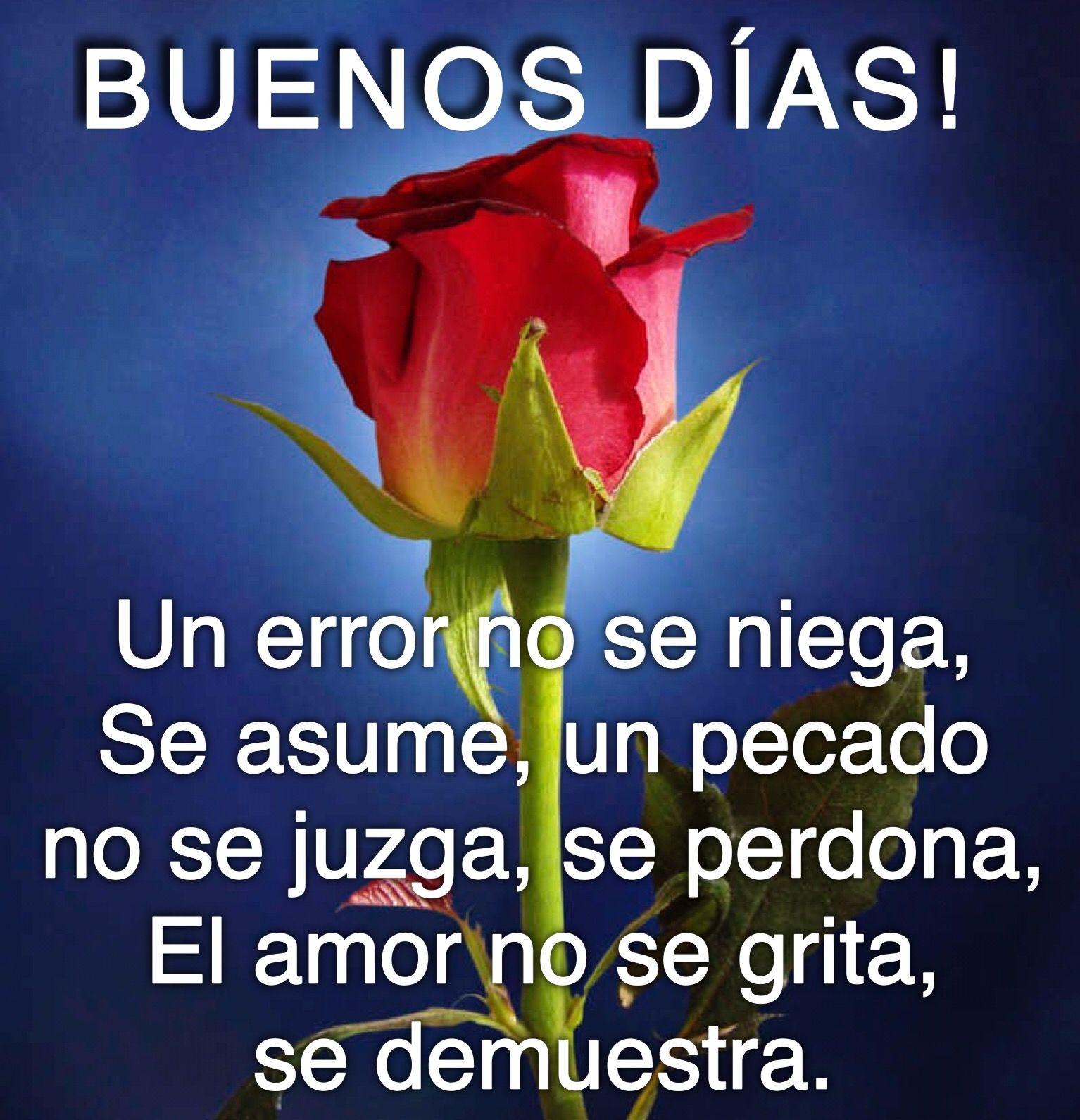Buen Dia Frase Bonitas Frases De Amor Mensaje De Buenos Das Buenas Noches Telar Aves Cielo Mensajes