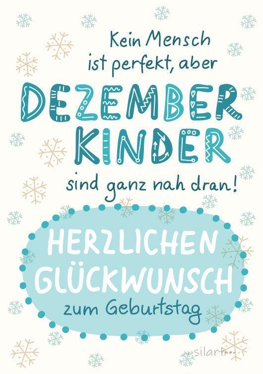 Happy Write Geburtstagkarte Dezemberkinder Giftsforsister In