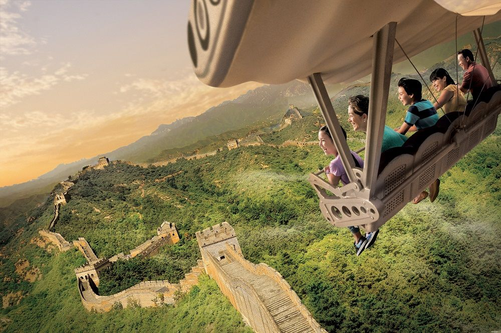 Soarin Around the World at Epcot