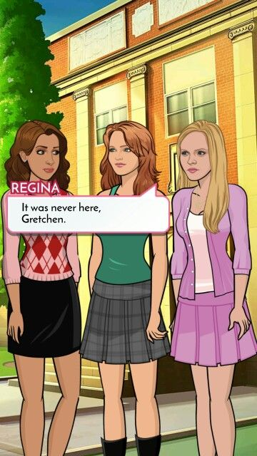Pin by Mahogani Gibson on Mean girls | Episode choose your
