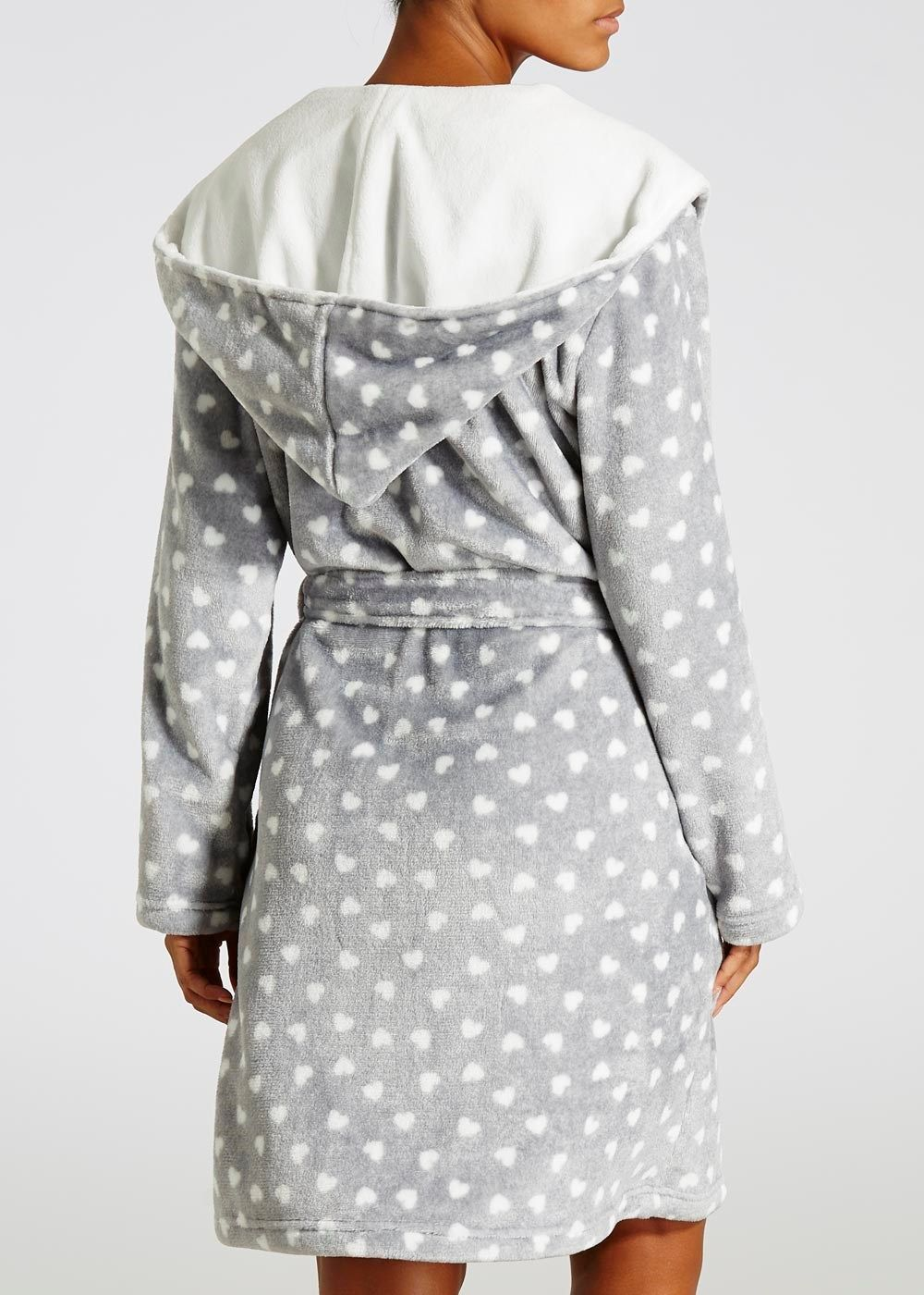Heart Hooded Dressing Gown | Nightwear | Pinterest | Gowns and Shopping