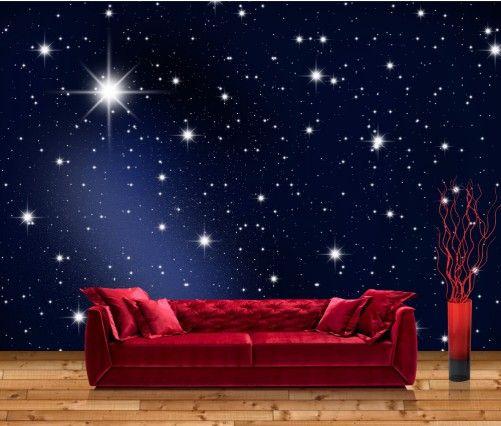 Schlafzimmer Sternenhimmel vliestapete sternenhimmel 24 2 24 3 tapeten