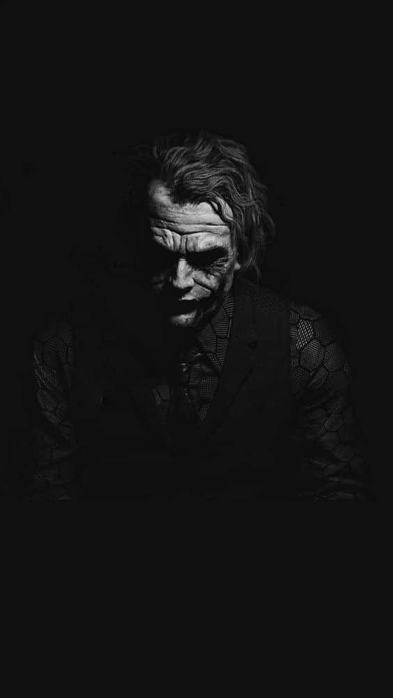 En Iyi Siyah Telefon Duvar Kagitlari 35 Pixselle Joker Batman Kara Sovalye Dijital Boyama