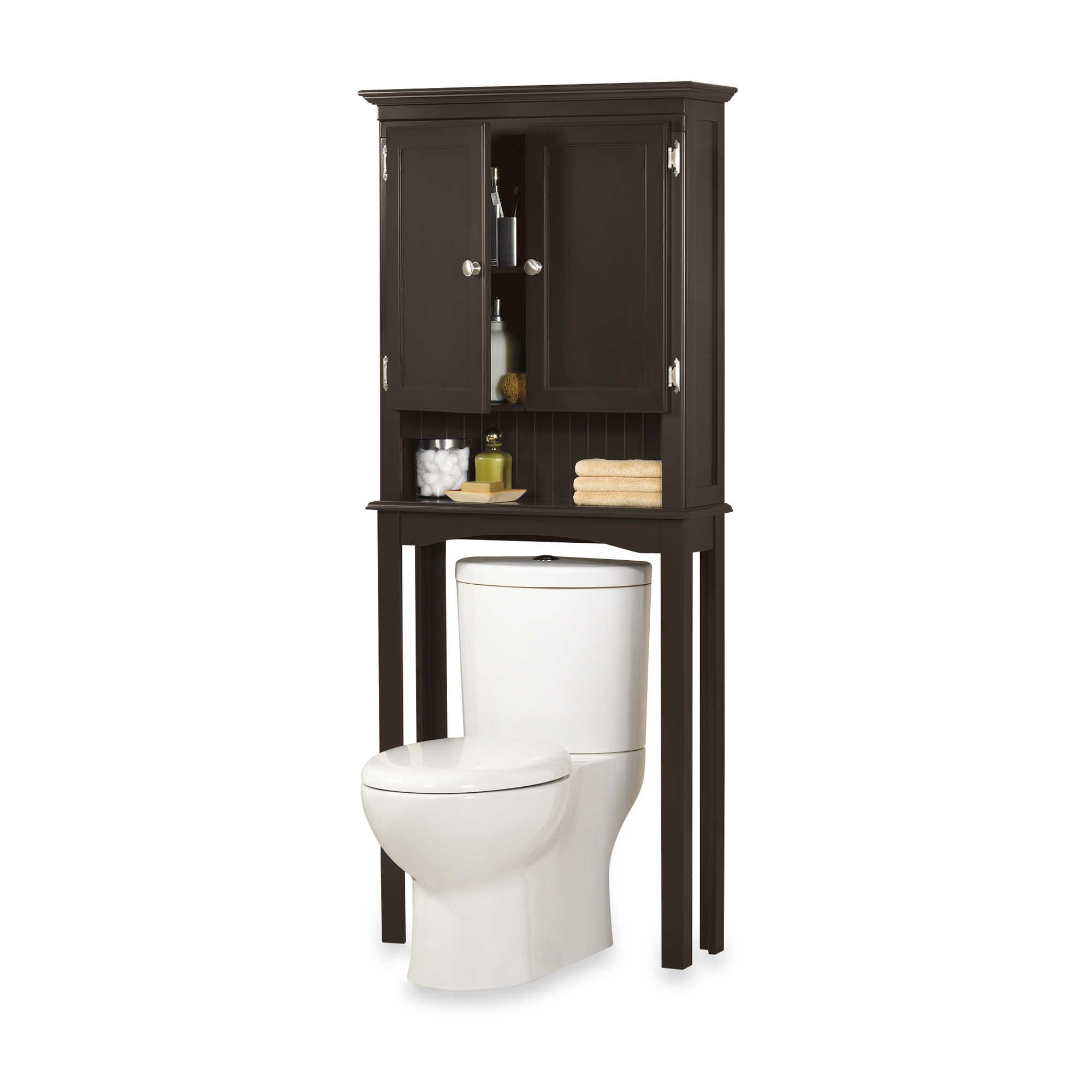 fairmont espresso space saver bathroom cabinet - Bathroom Cabinets Space Saver