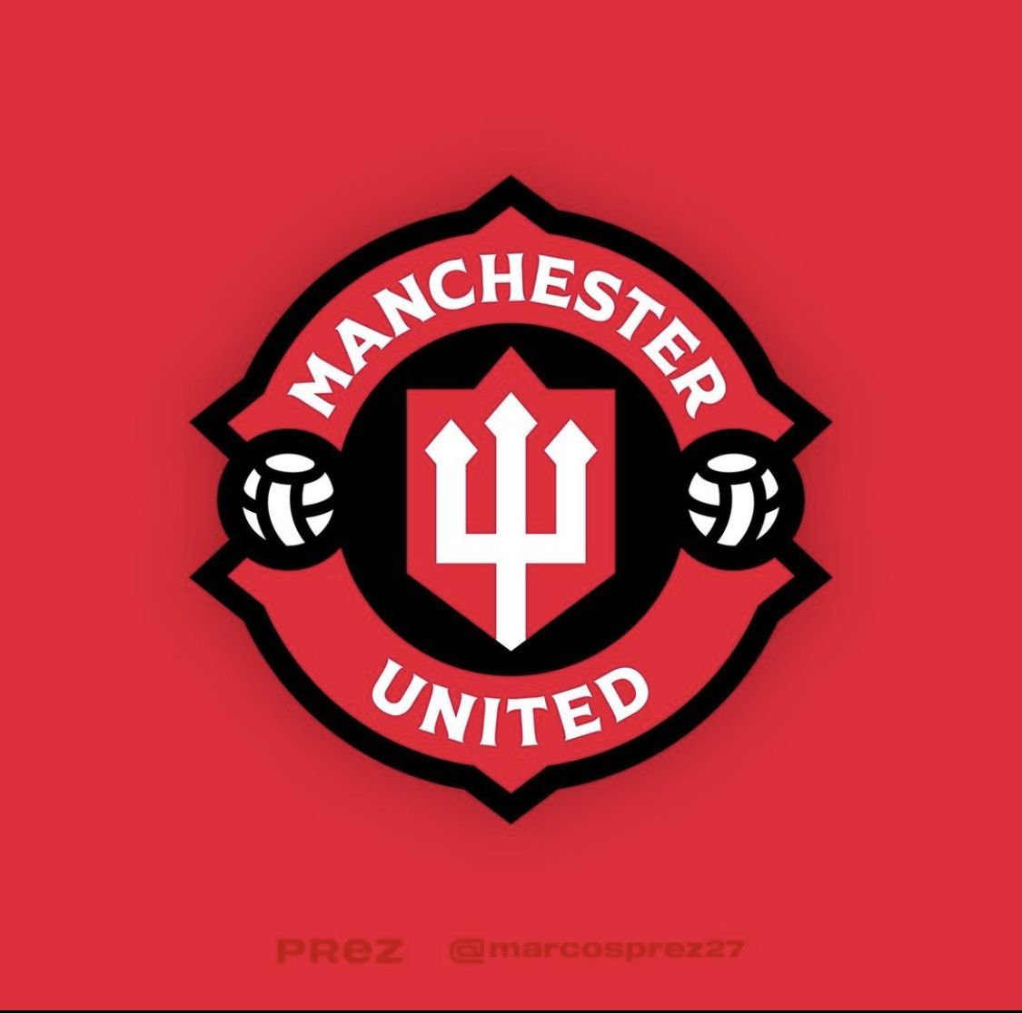 Manchester United Redesign Crest By Marcos Prez In 2021 Soccer Logo Logotype Design Football Logo