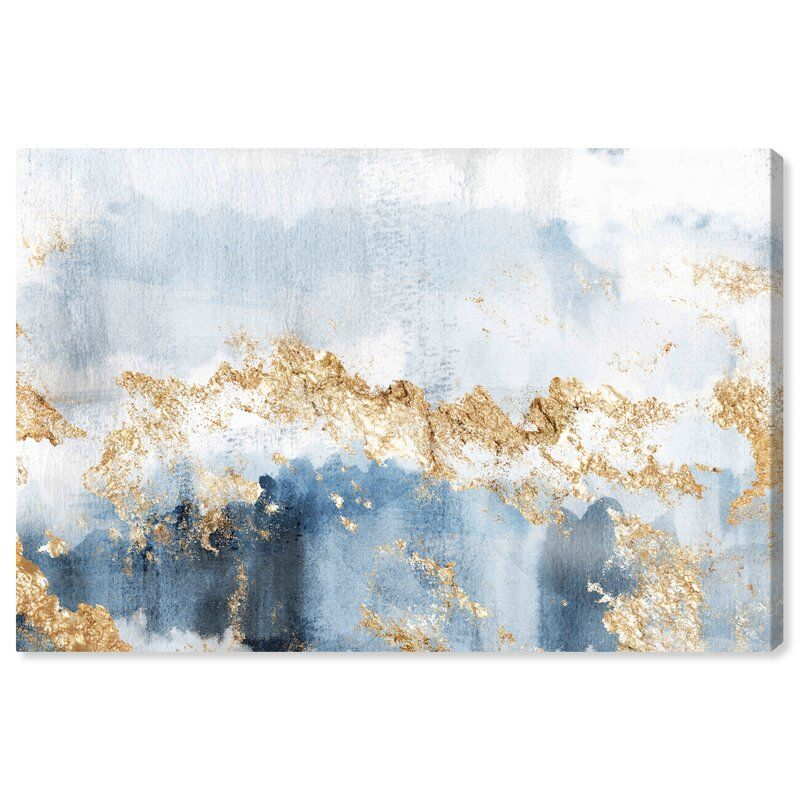 Abstract Eight Days A Week Watercolor Picture Frame Graphic Art Print Abstract Painting Print Wall Art Canvas Prints Framed Canvas Prints