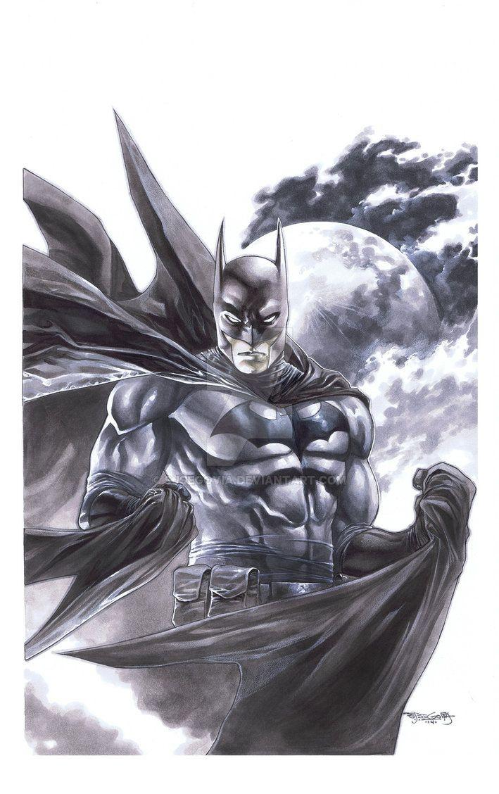 Batman copics by sjsegovia