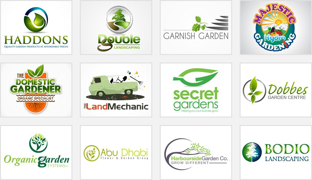 Gardening And Landscaping Logos Logo Design Tips Landscaping