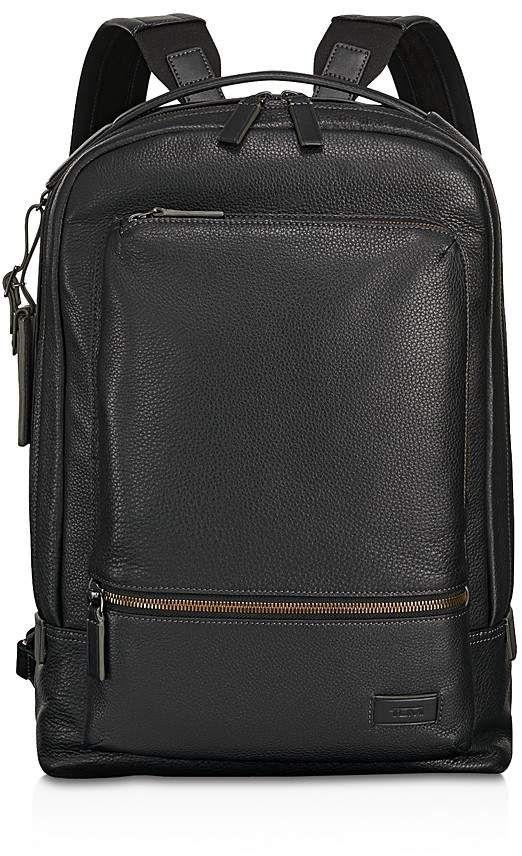 e2b355554e8a Tumi Harrison Leather Bates Backpack | Products | Backpacks, Leather ...