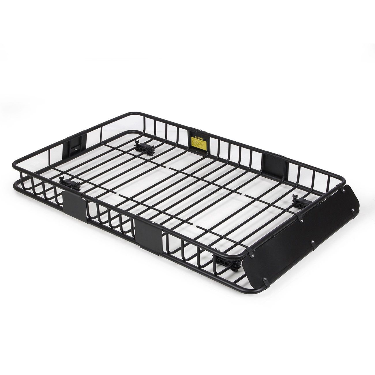 """64"""" Universal Black Roof Rack Cargo Carrier w/ Extension"""