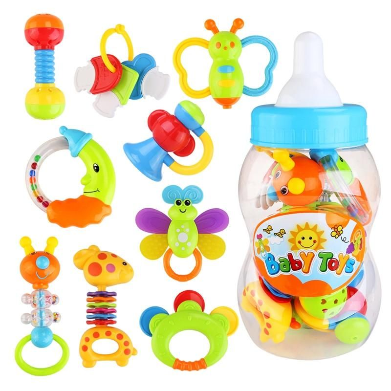 FIRST RATTLE AND TEETHER FOR BABIES
