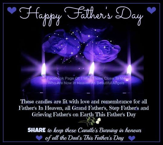 Happy Fathers Day In Heaven Dad Those Close To Me Who Are Now