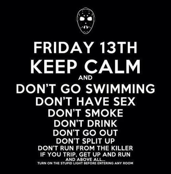 Friday 13th, keep calm and..-Dravens Tales from the Crypt