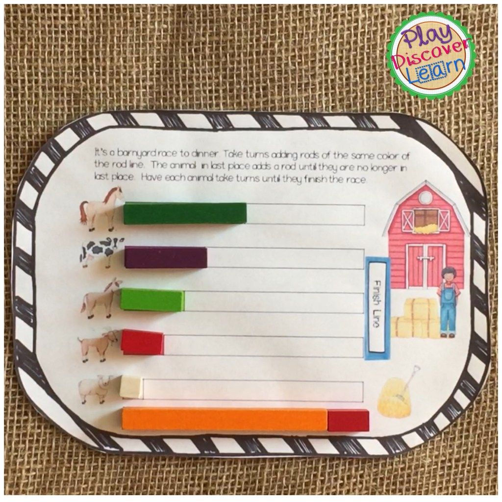 Teaching Fractions With Cuisenaire Rods Begins With Naming
