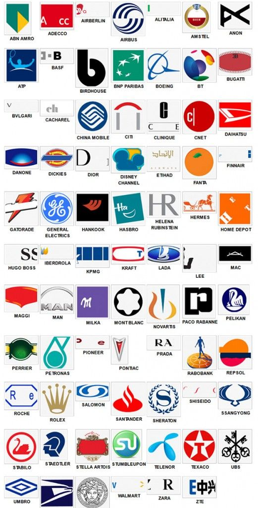 Logo Game Answers Level 6 : answers, level, Logos, Level, Answers, Solutions