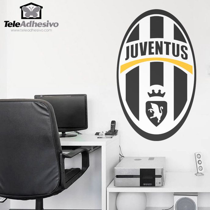 Pin On Wandtattoo Football Latest juventus room paint color