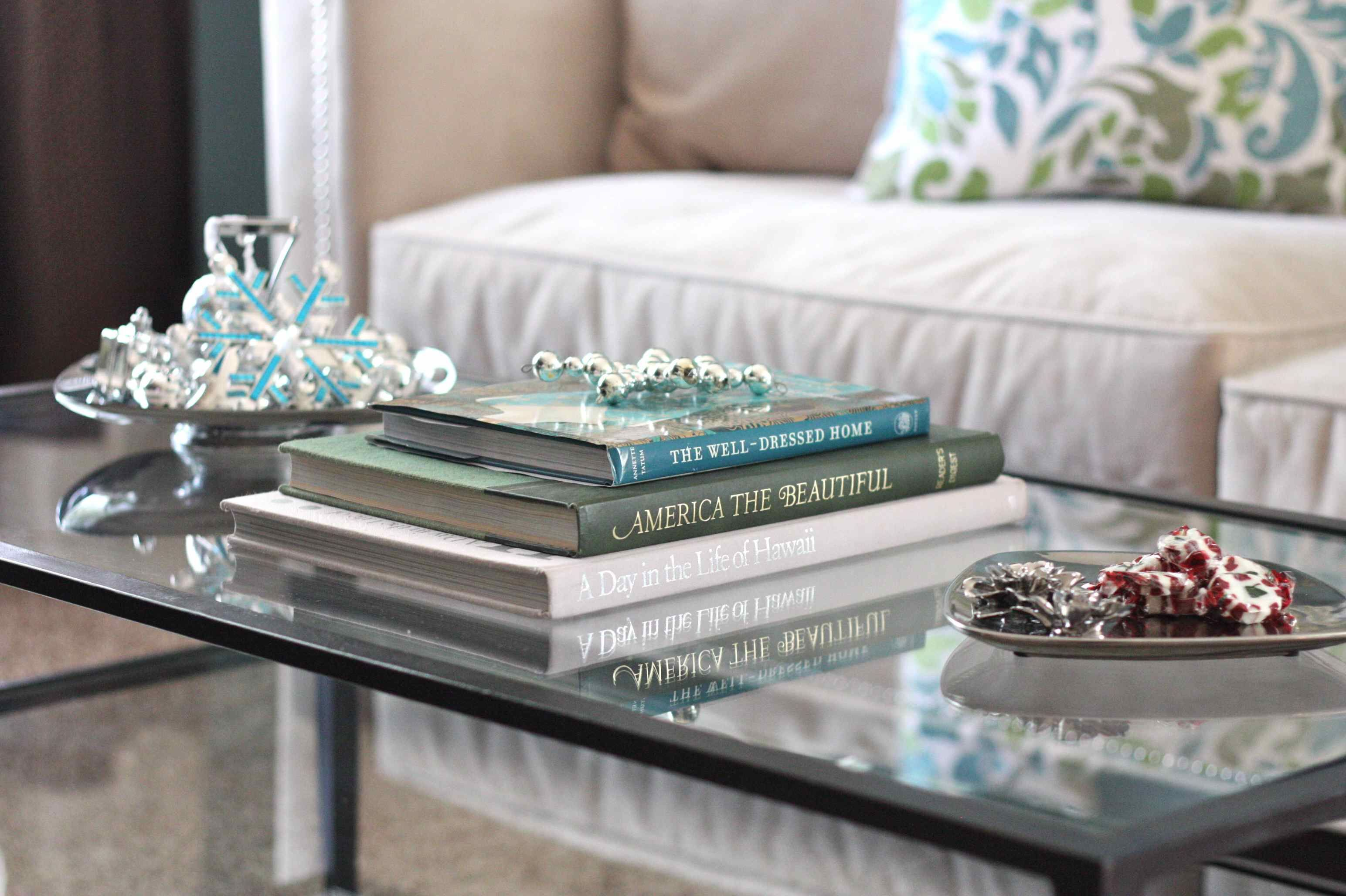 Silver Candy Dishes And Coffee Table Books From Goodwill Thrift