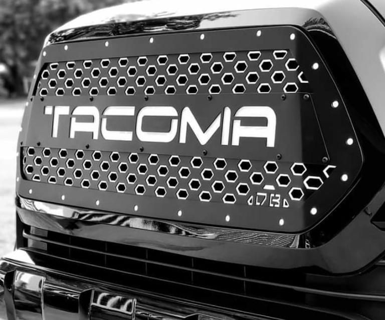 2016 2020 Tacoma Drop In Grille Insert With Images Toyota