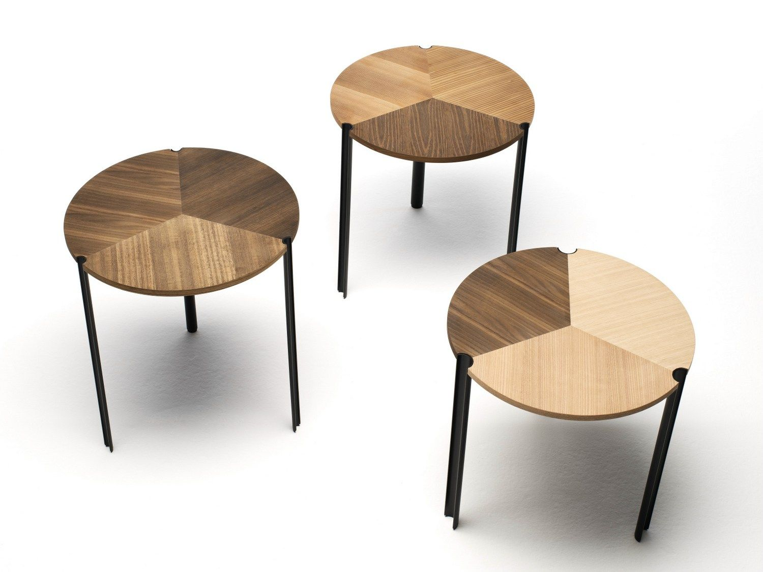 Low stackable modular wooden coffee table starsky by for Small stackable coffee tables